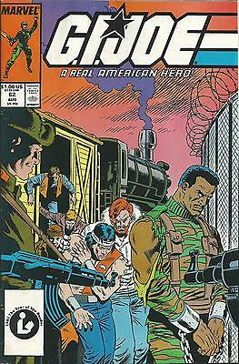 G.i.joe: A Real American Hero #62  (Marvel) (1987)