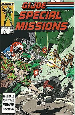 G.i.joe: A Real American Hero: Special Missions #8 (Marvel) (1987) Nm-
