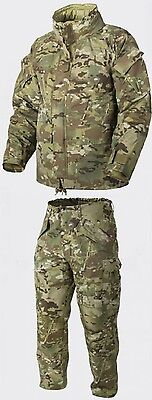 HELIKON TEX US ECWCS CAMOGROM Army Cold Wet Weather Hose Jacke Set M Medium