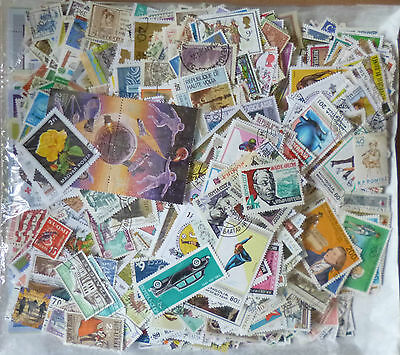 Collection Packet of 3000 Different WORLD Stamps Postmarked Used Condition