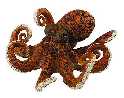 CollectA 88485 Octopus - Cephalopod Sealife Toy Figurine Replica Model - NIP