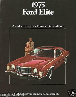 Auto Brochure - Ford - Elite - 1975  (AB750)
