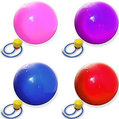 65cm RUBBER PREGNANCY BIRTHING EXERCISE FITNESS AB WEIGHT LOSS YOGA BALL