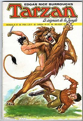 bimensuel TARZAN n°25 ¤ 1974 SAGEDITION