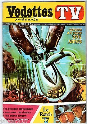 VEDETTES TV n°10 ¤ LE RANCH L/JOHN FAITH/DAVY JONES ¤ 1970 SAGEDITION