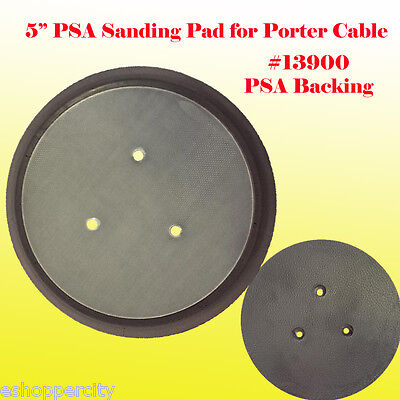 "5"" PSA Sander Pad No Holes For Porter Cable 13904 13909 333 334 332 13900"