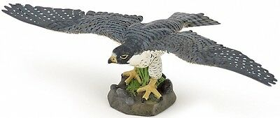 Papo 50165 Hawk Wild Forest Bird Model Toy Replica Figurine - NIP