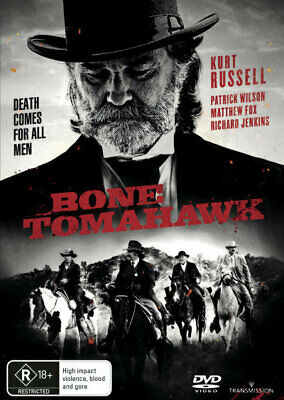 Bone Tomahawk - Kurt Russell DVD R4 New! *