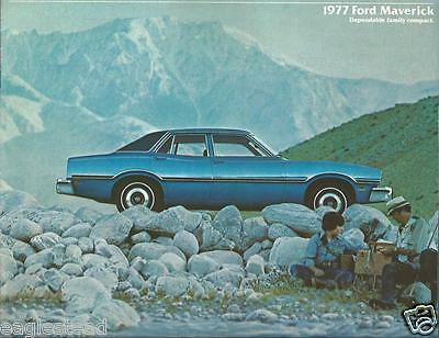 Auto Brochure - Ford - Maverick - 1977  (AB755)