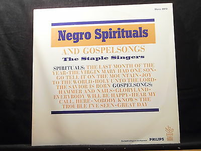 The Staple Singers - Negro Spirituals And Gospelsongs