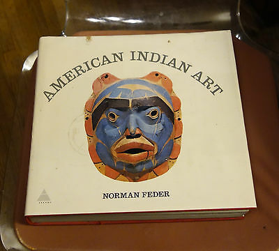 American Indian Art Reference Book By Norman Feder