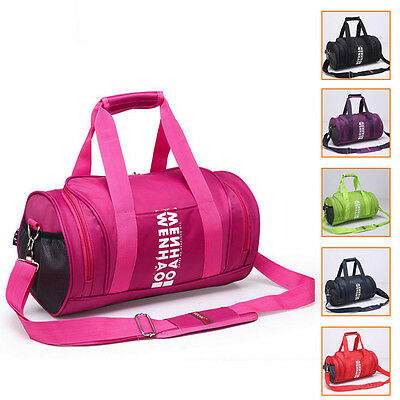 TRAINING TRAVEL DUFFLE SHOULDER BAG New Casual Sports Gym Holdall Bags Straps