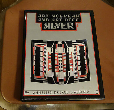 1989 Art Nouveau Deco Silver Reference Book
