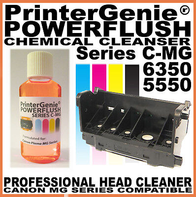 Printer Head Cleaner for: Canon MG 5550 6350 - Nozzle Clean & Printhead Unblock