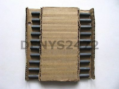 Large balun ferrite rods 8x140 mm. Lot of 20 NEW