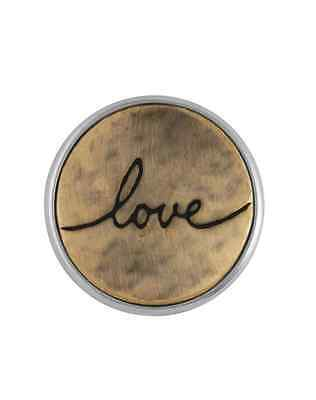 GINGER SNAPS™ LOVE SCRIPT Jewelry - BUY 4, GET 5TH $6.95 SNAP FREE