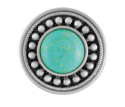 GINGER SNAPS™ SUNBURST TURQUOISE Jewelry - BUY 4, GET 5TH $6.95 SNAP FREE