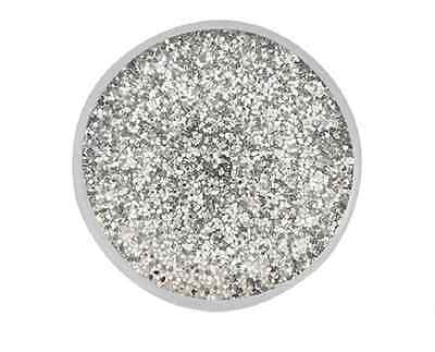BUY 4, GET 5TH $6.95 SNAP FREE GINGER SNAPS™ SILVER GLITTER RESIN Jewelry