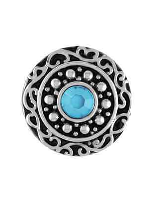 GINGER SNAPS™ BEVERLY TURQUOISE Jewelry - BUY 4, GET 5TH $6.95 SNAP FREE