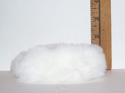 Vintage BARBIE #983 ENCHANTED EVENING FAUX FUR WHITE STOLE ONLY 1960 REPRO