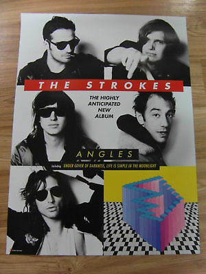 The Strokes - Angles [Original] Poster *new*