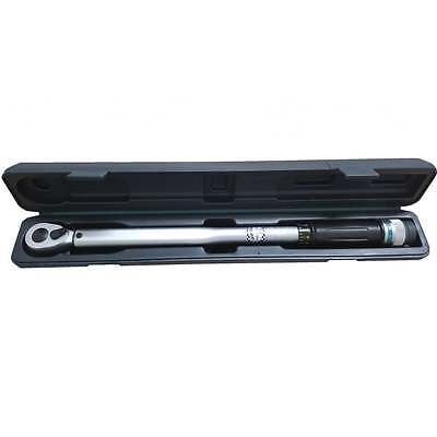 "1/2"" Drive Micrometer Torque Wrench Calibrated 2 Year MFC Warranty Omega M210N"