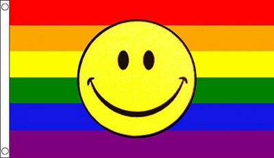 GAY RIGHTS PRIDE Supporter Flags Emoji Smiley LGBT Rainbow