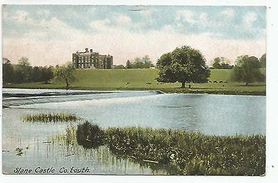 irish postcard ireland louth slane castle