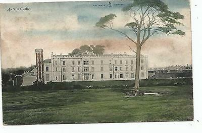 northern ireland postcard ulster irish antrim castle