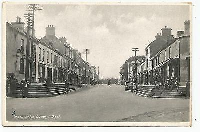 northern ireland postcard ulster irish down greencastle street kilkeel