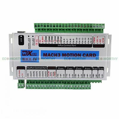 ECO High Quality Mach3 USB 3 Axis CNC Motion Control Card Breakout Board 400KHz