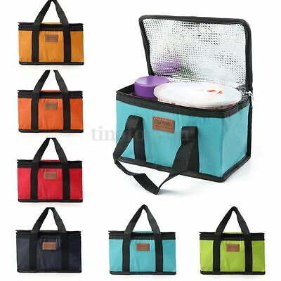 Waterproof Insulated Cooler Picnic Thermal Portable Lunch Carry Storage Bag Box