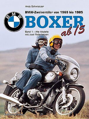 Boxer from '5 BMW Motor Cycles from 1969 to 1985 Models R 45 65 80 90 100 Book