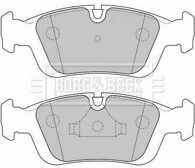 Includes Wear Indicators//Leads Borg /& Beck BBP1949 Front Brake Pads Bosch