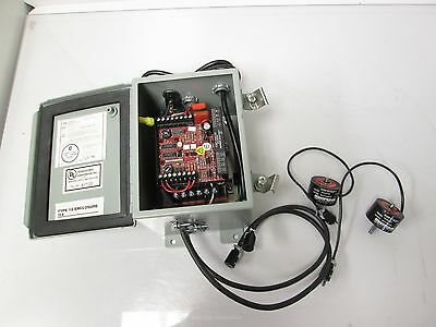 Lot of 2 Magpowr PSB224V Magnetic Particle Brakes w/ CBC550-24 Power Supply