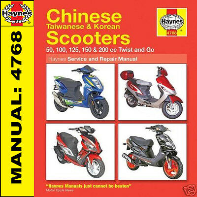 Manuale Scooter Haynes: PGO T-REX 50 125, G-MAX 50, PMX 50 Ligero 50 HM4768