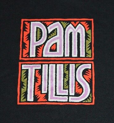 XL * vtg 90s 1991 PAM TILLIS t shirt * country music DON'T TELL ME WHAT TO DO