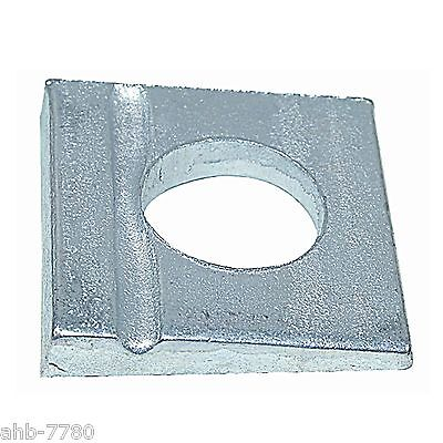 square washer DIN 435, galvanized,V-pulley