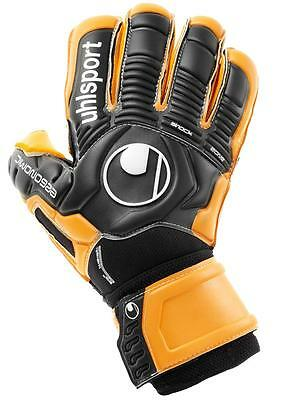 Uhlsport Ergonomic Supersoft Rf Torwarthandschuhe Torwart Gloves schwarz