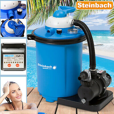 Sandfilteranlage Speedclean 9500 Sandfilter Filter Pool 9,5m³ Intex Filterkessel