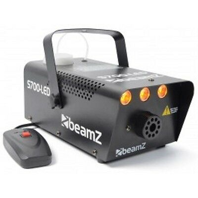 BeamZ S700-LED Smoke Machine  700W with Flame Effect