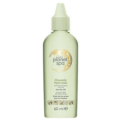HUILE THERMO ACTIVE CHEVEUX AVON PLANET SPA Huile d'olive