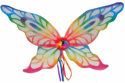 Adult Child Fairie Fairy Rainbow Wings Butterfly Costume Accessory