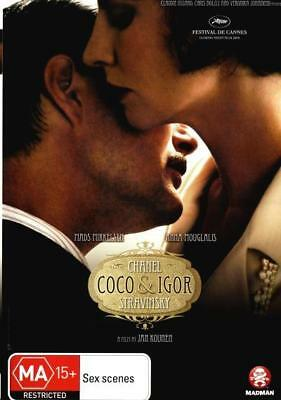 Coco Chanel And Igor Stravinsky DVD R4 Brand New!