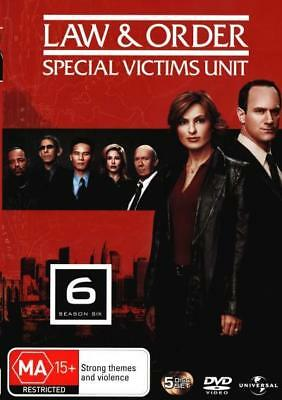 Law And Order Special Victims Unit SVU - Season 6 DVD R4 Brand New!