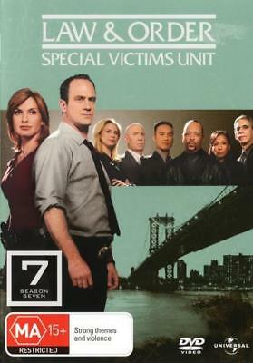 Law And Order Special Victims Unit SVU - Season 7 DVD R4 Brand New!