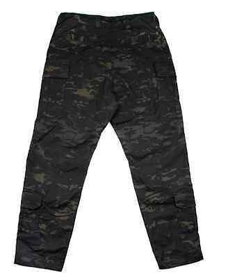TMC Multicam Black Tactical Military 3G Field Pants with Pads airsoft paintball