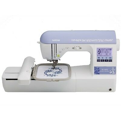BROTHER SE1800 Embroidery and Sewing Combo Machine New