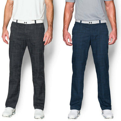 Under Armour 2016 Mens UA Matchplay Printed Golf Pant Tech Performance Trousers