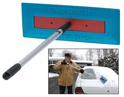 SNOBRùM Automotive Snow Sweeper and Remover Snow Broom Snow Rake